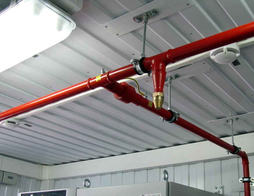 система автоматического пожаротушения спринклерная установка